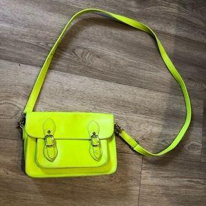 Neon Green Cross Body Bag